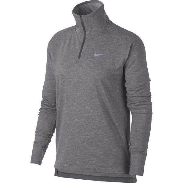 7aebaf309 ... Women's Nike Therma Sphere Element Running Long Sleeve 1/4 Zip Tap to  Zoom; Gunsmoke/Htr