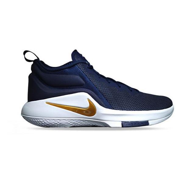 uk midnight navy metallic gold white tap to zoom mens nike lebron witness  ii basketball shoes f7e4b6738