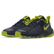 Grade School Nike Team Hustle Quick Basketball Shoes