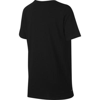 Grade School Boys' Nike Dry Football Swoosh T-Shirt