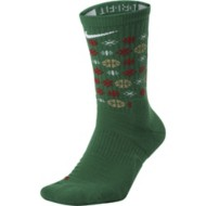 Nike Elite Christmas Crew Basketball Socks