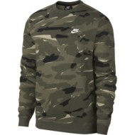 Men's Nike Sportswear Camo Long Sleeve Crew