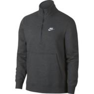 Men's Nike Sportswear Club Brushed Back Fleece Long Sleeve 1/2 Zip