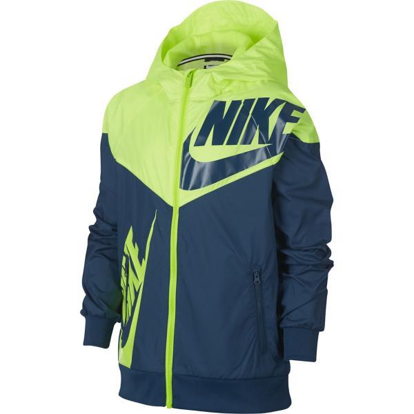 bc9e86f5d263 Tap to Zoom  Wolf Grey Dark Grey Tap to Zoom  Grade School Boys  Nike  Sportswear Windrunner Jacket