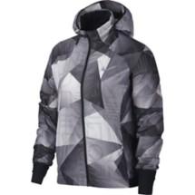 Women's Nike Shield Printed Hooded Running Jacket