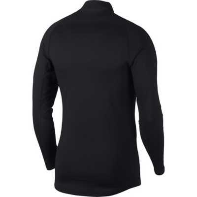 Men's Nike Pro Therma Mock Collar Long Sleeve Shirt