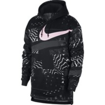 Men's Nike Therma Pink Training Hoodie