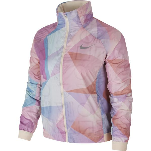 Guava Ice Guava Ice Tap to Zoom  Women s Nike Shield Printed Hooded Running  Jacket b317020c4b