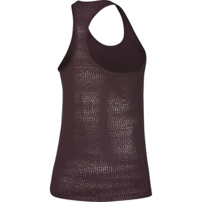 Women's Nike Pro Metallic Foil Dots Tank