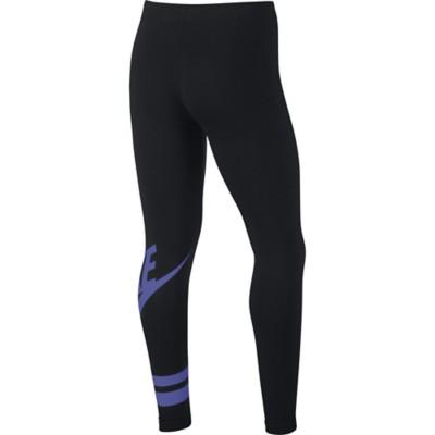 Grade School Girls' Nike Sportswear Graphic Tight