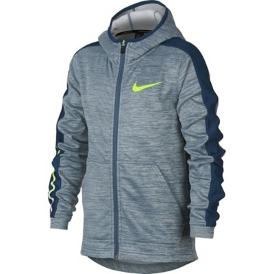 Youth Boys' Nike Therma Elite Basketball Full Zip Hoodie' data-lgimg='{