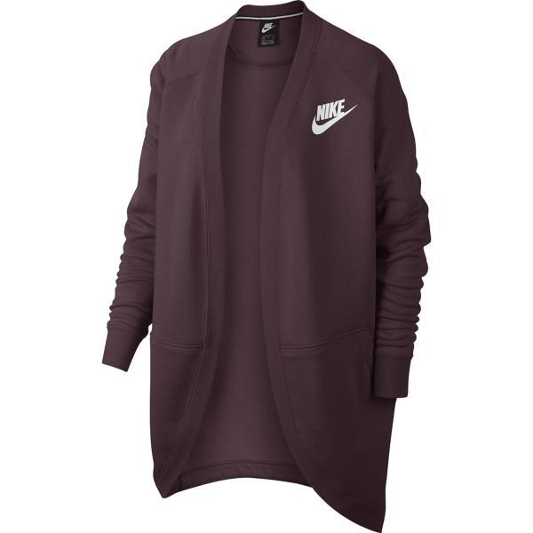 Burgundy Crush Burgundy Crush White Tap to Zoom  Women s Nike Sportswear  Rally Cardigan 5b6812ae4