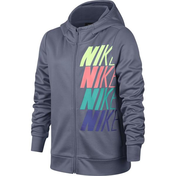 aaa048cad9d0 Youth Girls  Nike Therma Graphic Full Zip Hoodie