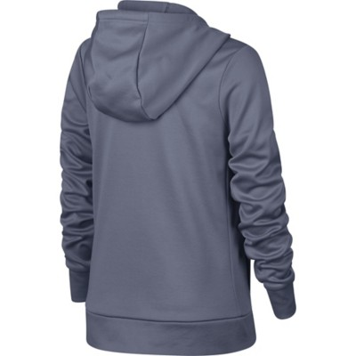 Youth Girls' Nike Therma Graphic Full Zip Hoodie