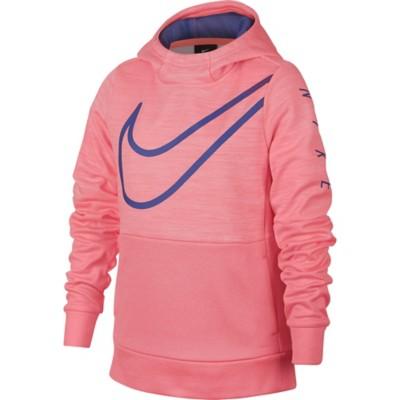 Grade School Girls' Nike Therma Swoosh Training Hoodie