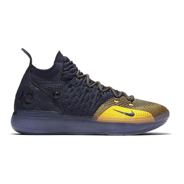 official photos 8732d fe9de ... Nike Zoom KD 11 Basketball Shoes Tap to Zoom  College Navy University  Gold
