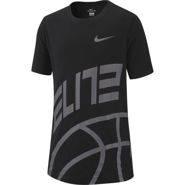 bb33b6f3c ... Boys' Nike Dri-Fit Elite Basketball Graphic T-Shirt Tap to Zoom;  Black/Gunsmoke