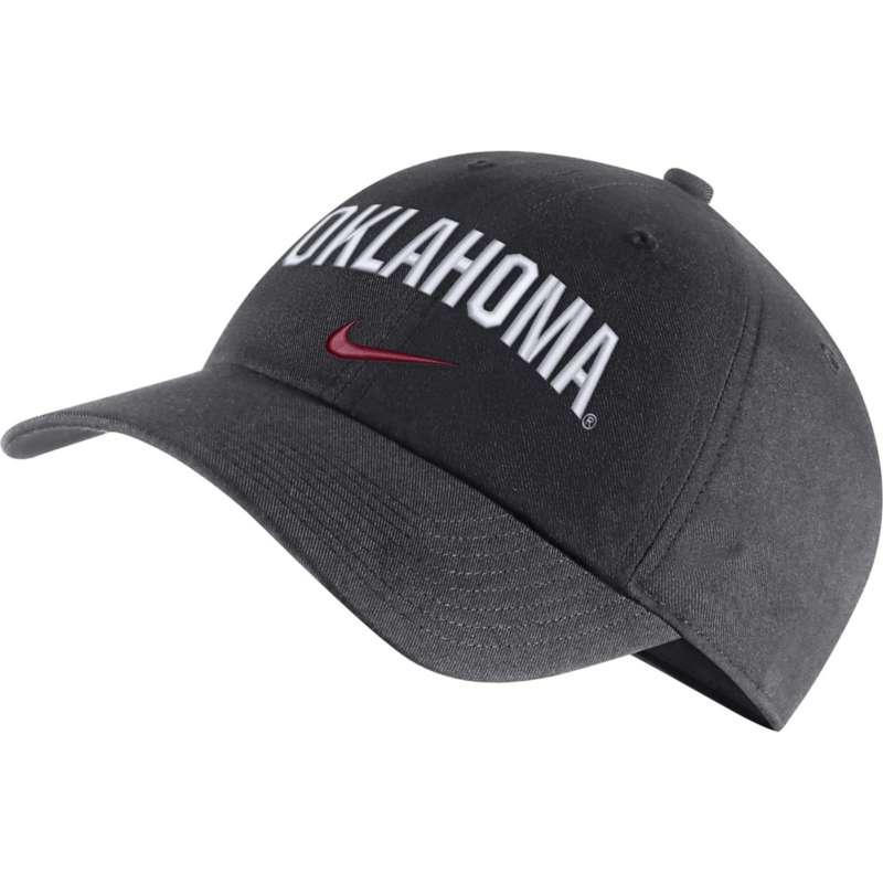 Nike Oklahoma Sooners Heritage86 Wordmark Hat