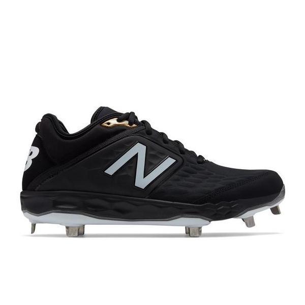e4aad98434959 ... Men's New Balance Fresh Foam 3000v4 Metal Baseball Cleats Tap to Zoom;  Black/Black