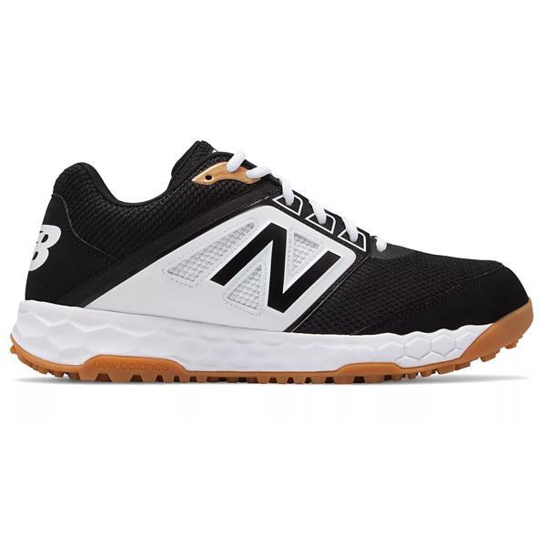 d2989e3fb5426 ... Men's New Balance Fresh Foam 3000v4 Turf Baseball Shoes Tap to Zoom;  Black/White