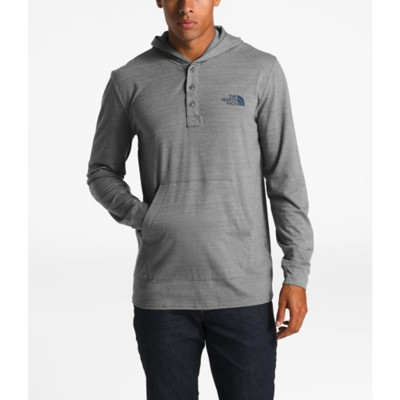 3a275655c Men's The North Face Tri-Blend Henley Hoodie