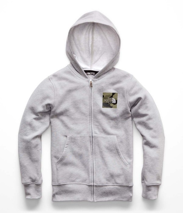 TNF Light Grey Heather/New Taupe Green