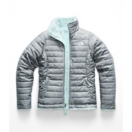 Grade School Girls' The North Face Mossbud Swirl Reversible Jacket