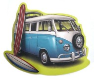 Blue 84 Detour Surf Bus Sticker