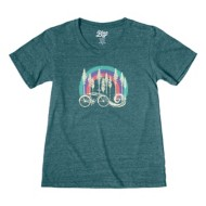 Women's Blue 84 Microwave T-Shirt