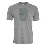 Men's Blue 84 Bike Skull T-Shirt
