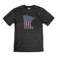 Men's Blue 84 Flag State Bike T-Shirt
