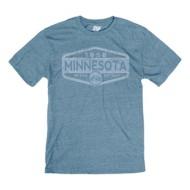 Men's Blue 84 Bike State Label T-Shirt