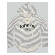 Women's Blue 84 Ride On Hoodie