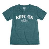 Women's Blue 84 Ride On T-Shirt