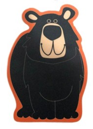 Blue 84 Leap Year Bear Sticker