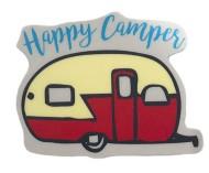 Blue 84 Happy Camper Sticker