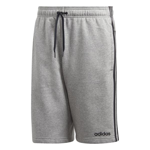 821e97a72 Grey Tap to Zoom  Men s adidas Essentials 3 Stripes Fleece Short