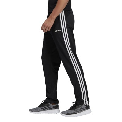 Men's adidas Essentials 3 Stripes Tapered Pant Tricot