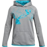 Youth Girls' Under Armour Fleece Print Fill Logo Hoodie