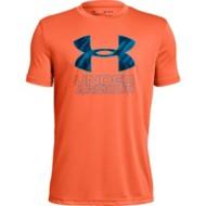 Youth Boys' Under Armour Print Fill Logo T-Shirt