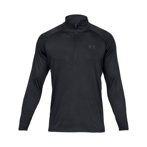 ec194a009 ... Men's Under Armour Tech Long Sleeve 1/2 Zip Tap to Zoom; Black/Charcoal