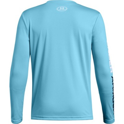 c9803c45f Youth Boys' Under Armour Pixel Crossbar Long Sleeve Shirt | SCHEELS.com