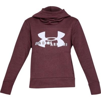f0225c884 Women's Under Armour Cotton Fleece Sportstyle Logo Hoodie | SCHEELS.com
