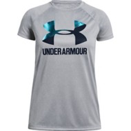 Youth Girls' Under Armour Big Logo Solid T-Shirt