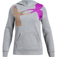 Youth Girls' Under Armour Rival 2 Tone Hoodie