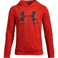 Youth Boy's Under Armour Rival Logo Hoodie