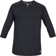 Men's Under Armour Recovery Sleepwear Henley Long Sleeve Shirt