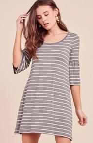 Women's BB Dakota Shade of Cool Striped Dress