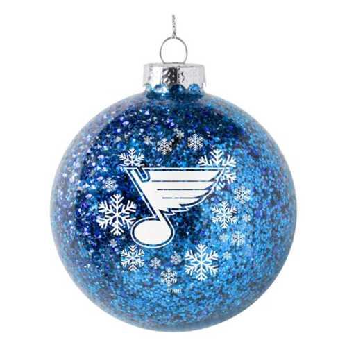 Logo St. Louis Blues Brands 6 Pack Ball Ornaments