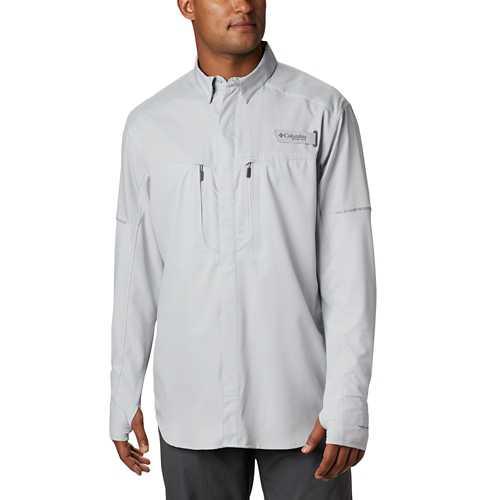 Men's Columbia PFG Force XII ZERO Hybrid Long Sleeve Shirt